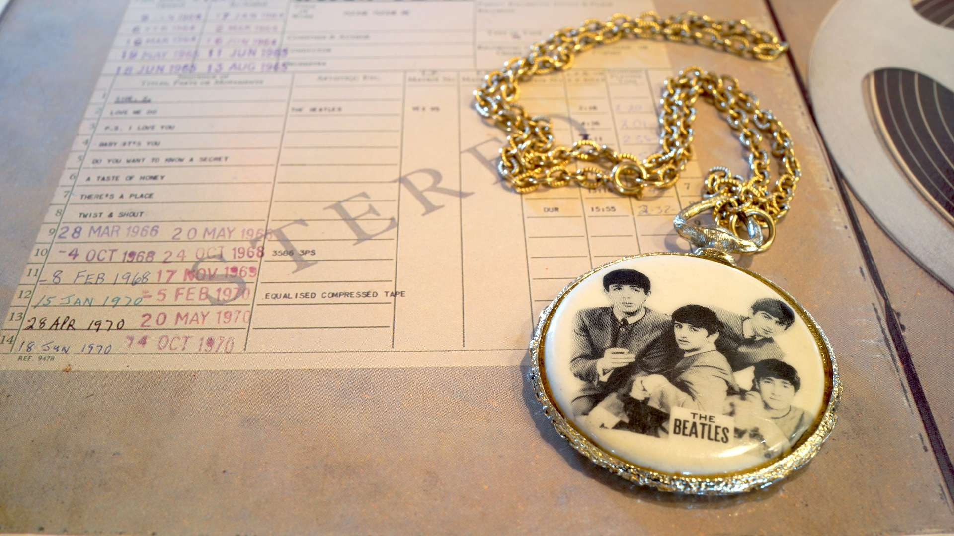 Beatles Necklace